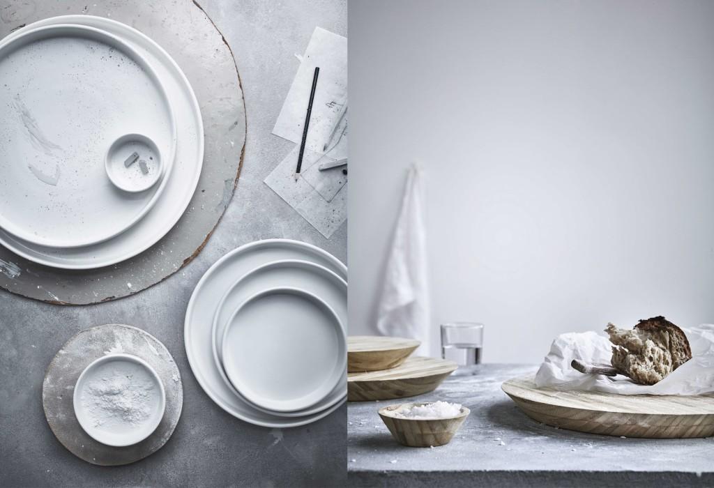 Ikea-Kollektion-Viktigt-Servierplatten-Set_Schneidebrett-und-Schale