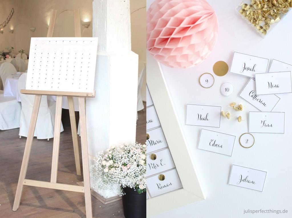 Hochzeitspapeterie DIY Menukarten Sitzplan Leporello_4