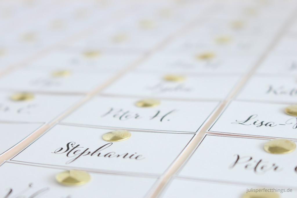 Hochzeitspapeterie DIY Menukarten Sitzplan Leporello_5