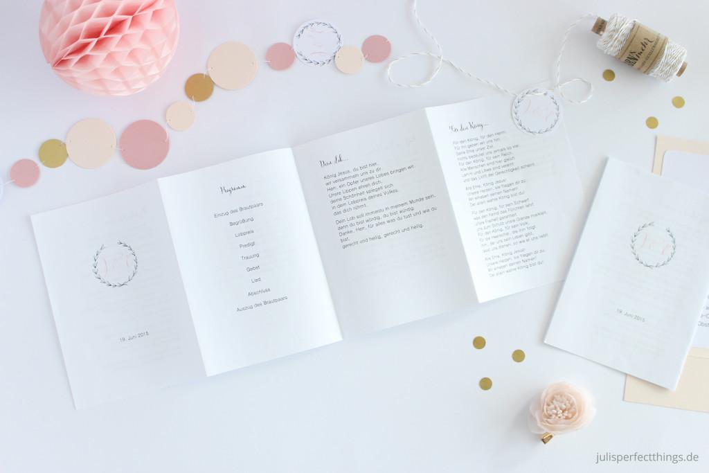 Hochzeitspapeterie DIY Menukarten Sitzplan Leporello_6